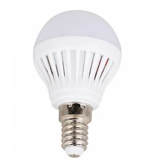 230V Led Light 4.5W E14 Warm White 230-270Lm Mini Globe Bulb Ranpo