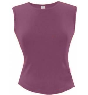 Sol's Groovy 11170 WOMEN'S sleeveless T-SHIRT Interlock 240gsm - 100% combed cotton