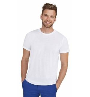 SOL'S SUBLIMA 11775 Unisex T-shirt για Sublimation Jersey 160 100% Πολυέστερ βαμβακερή υφή