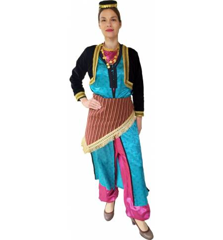 Greek Traditional Costume Ponte Women Gold MARK833