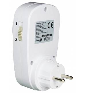 EcoSavers Countdown Timer 22H EU Plug 230V