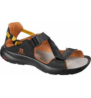 Salomon Tech Sandal Ανδρικά παπούτσια Σανδάλια Black / Caramel Cafe / Arrowwood EU 44