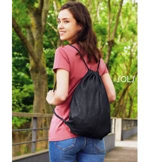 Sol's Chill - 02111 Backpack with cords from Raw Denim 34,5 x 45 cm