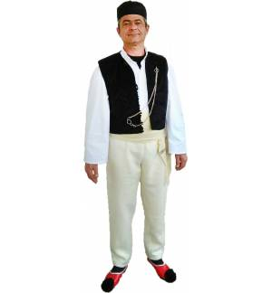 Greek Traditional Costume IPEIROTIS wool Men Epirus MARK838