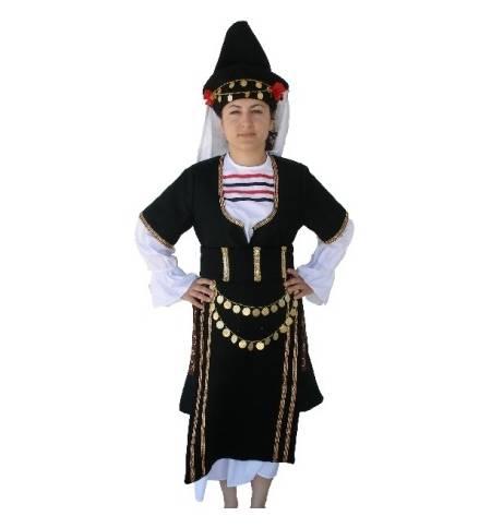 Παραδοσιακή Στολή ΜΑΚΕΔΟΝΙΤΙΣΣΑ 6-12 Ετών MARK604