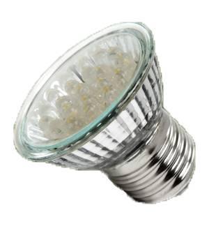 1,2W E27 LED Lamp, Reflector, FLAME color