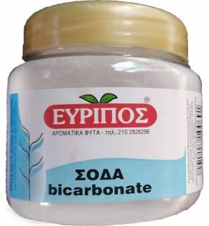 Μαγειρική διττανθρακική Σόδα Εύριπος 200γρ βάζο