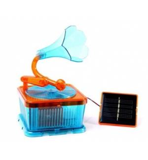 Science Time Solar Music Box Green Power Concept Safe for Childr