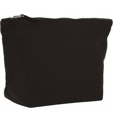 UBAG Lisa τσάντα natural Πουγκί με φερμουάρ 100% βουρτσισμένο βαμβάκι 400grs