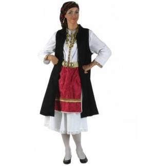 Παραδοσιακή Στολή Ηπειρώτισσα με σεγκούνι Εφηβική & Γυναικ