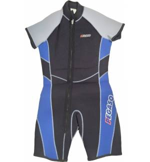 5mm Short Sleeve Neoprene Diving Surfing suit Wetsuit S Scuba Di