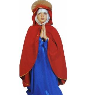 Christmas Costume Lady Mary Virgin Notre Dame 4-10 years MARK651
