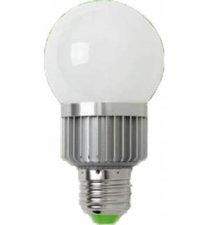 3W E27 Λαμπτήρας High Power LED τύπου Globe. 1x3W