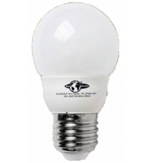 7W E27 Energy Saving Lamp Mini Globe