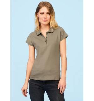 SOL'S PRESCOTT WOMEN 11376 polo shirt Jersey 170gsm 100% semi-combed Ringspun cotton