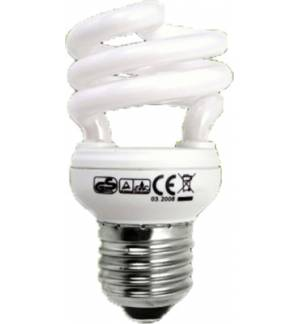 11W E27 Energy Saving Lamp spiral super small