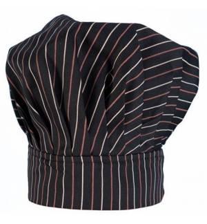Fabrik Σκούφος Chef Ριγέ 100% βαμβακερό με κλείσιμο με χράτς MARK845