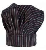 Fabrik Σκούφος Chef Ριγέ 100% βαμβακερό με κλείσιμο χράτς MARK845
