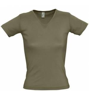 SOL'S LADY V 11835 Γυναικείο T-shirt 100% Βαμβάκι Ringspun σεμί πενιέ