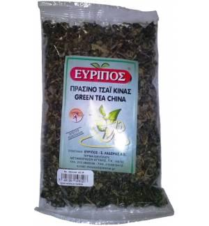 Πράσινο Τσάι Κίνας Εύριπος 100γρ. Φυσικό Τονωτικό Προϊόν Άριστης