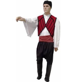 Παραδοσιακή Φορεσιά ΜΑΝΙΑΤΗΣ Μάλλινος Ανδρική MARK848