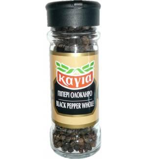 BLACK PEPPER WHOLE Kagia 50g 1.76oz Glass jar Spices Grade A