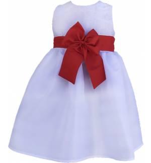 CHILDREN'S TAFFET DRESS LINED MARK850