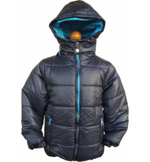 BOY'S JACKET WITH REMOVABLE HOOD MARK856