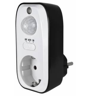 PIR Sensor Switch Infrared Motion Detector 230v EU Plug New Cont