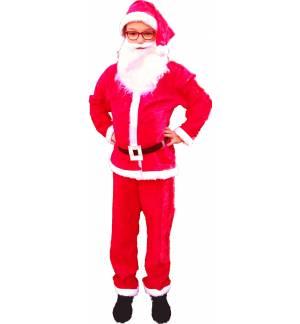 Χριστουγεννιάτικη Στολή Αϊ Βασίλης 4-10 ετώνMARK646