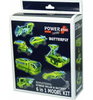 Educational Hybrid Solar & Battery 6 in 1 Model Kit POWERplus Ju