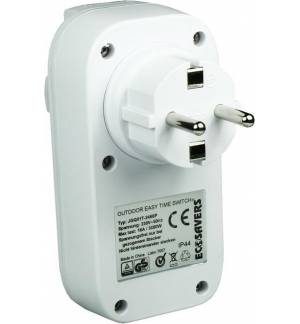 Ecosavers OutDoor Easy Time Switch Αυτόματος Διακόπτης Ρεύματος με Αισθητήρα Φωτός