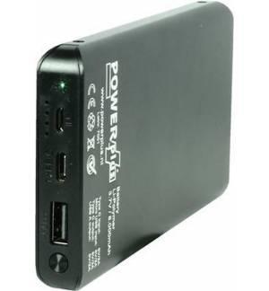 POWERPLUS SPARROW 8000MAH SOLAR USB TYPE C POWERBANK FLASHLIGHT ALUMINIUM CASE