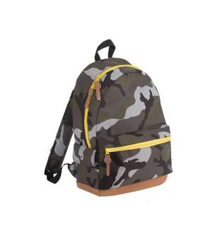 Sol's Pulse 01203 CAMO 600D POLYESTER BACKPACK