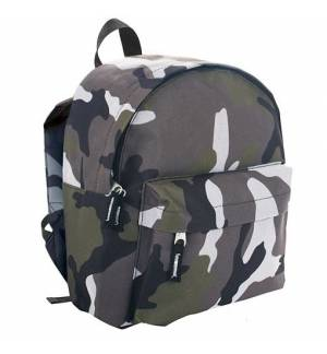 Sol's Rider CAMO Kid's 70101 600D POLYESTER RUCKSACK