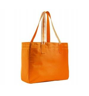 Sol's Rimini 71900 600D POLYESTER SHOPPING BAG Orange & Fuchsia