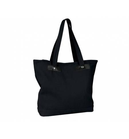 Sol's Chic 00600 Τσάντα αγοράς από καμβά Black & Blue Ocean