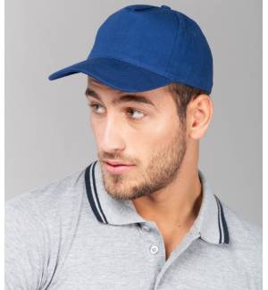 837 5 panel jockey hat Cap 100% Brushed Heavy Cotton 250gr