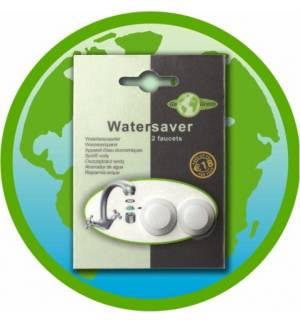 Έξυπνος μειωτήρας ροής νερού. Οικονομία 50%. Σετ για 2 βρύσες.