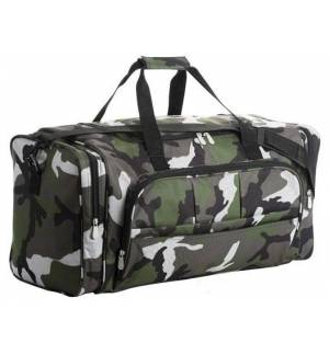 Sol's Week-end 70900 CAMO 600D POLYESTER MULTI POCKET SPORTS BAG