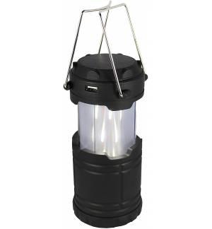 Powerplus Koala Ηλιακό / USB φανάρι LED με λευκό ή φλόγα φως & Power Bank