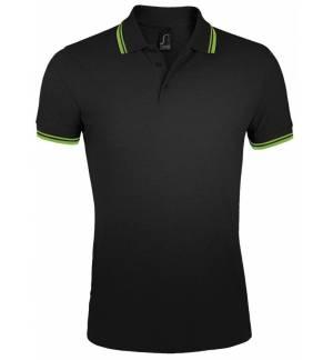 Sol's Pasadena Men - 00577 Men's polo shirt Pique 200gsm - 100% Ringspun cotton, Rib 1x1 collar and cuffs