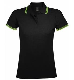 Sol's Pasadena Women 00578 Women's polo shirt Pique 200gsm - 100% Ringspun cotton, Rib 1x1 collar and cuffs