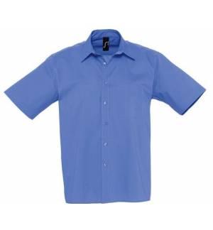 Sol's Berkeley 17070 Ανδρικό κοντομάνικο πουκάμισο 100% Βαμβάκι Ποπλίνα 125g