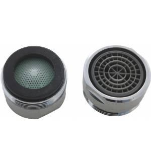 M24 Ακροφύσιο Οικονομίας Νερού 4 λίτρα/λεπτό Εσωτερικό Αρσενικό -50% 24mm Drop Saver