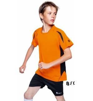 Sol's Maracana Kids SSL 90206 Παιδική κοντομάνικη μπλούζα 100% Interlock πολυέστερ, 140grs