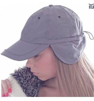 Atlantis Techno Flap Εξάφυλλο καπέλο τζόκεϊ 100% Νάιλον - 100% Πολυέστερ, 150gsm