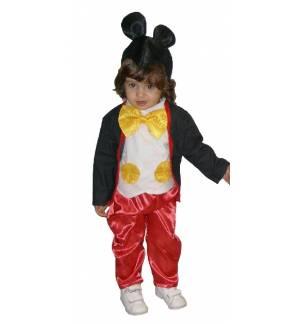 Καρναβαλική Στολή ποντίκι Ποντικάκι Mouse αγόρι 1-8 ετών MARK510