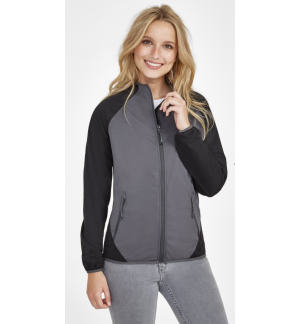 SOL'S ROLLINGS Women's ultra light two-coloured softshell jacket