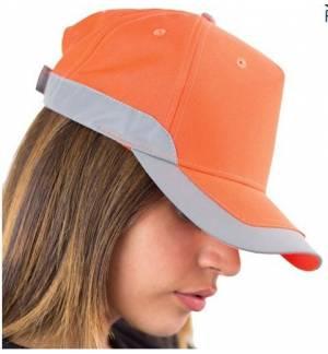 Atlantis Helpy πεντάφυλλο καπέλο τζόκεϊ 100% Πολυέστερ με Ανακλαστική πλαϊνή λωρίδα